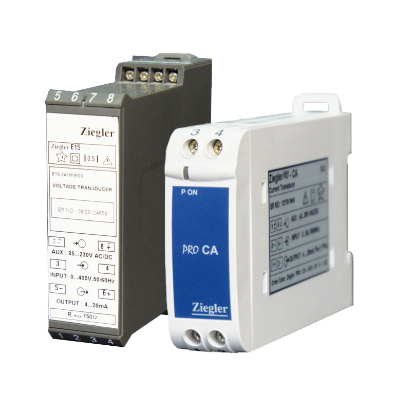 AC current and voltage transducers are appropriate for reception different current and voltage input signals and converting to DC output signals with various amounts. Bornika is the exclusive agent of Zeigler in the fields of consulation, sales and distribution of power industry products including AC Transducer & Transmitter .