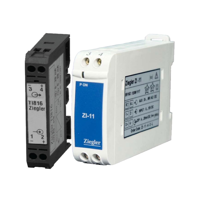 DC current and voltage transducers are appropriate for reception different current and voltage input signals and converting to DC output signals with various amounts. Bornika is the exclusive agent of  Zeigler in the fields of consultation, sales and distribution of power industry products including DC Transducers & Transmitters .