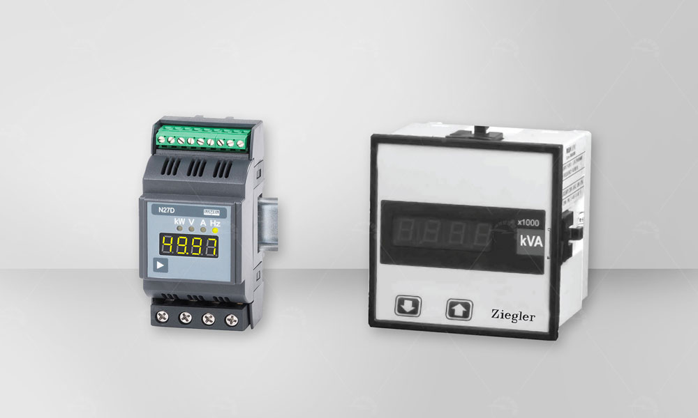 Digital wattmeter and varmeter