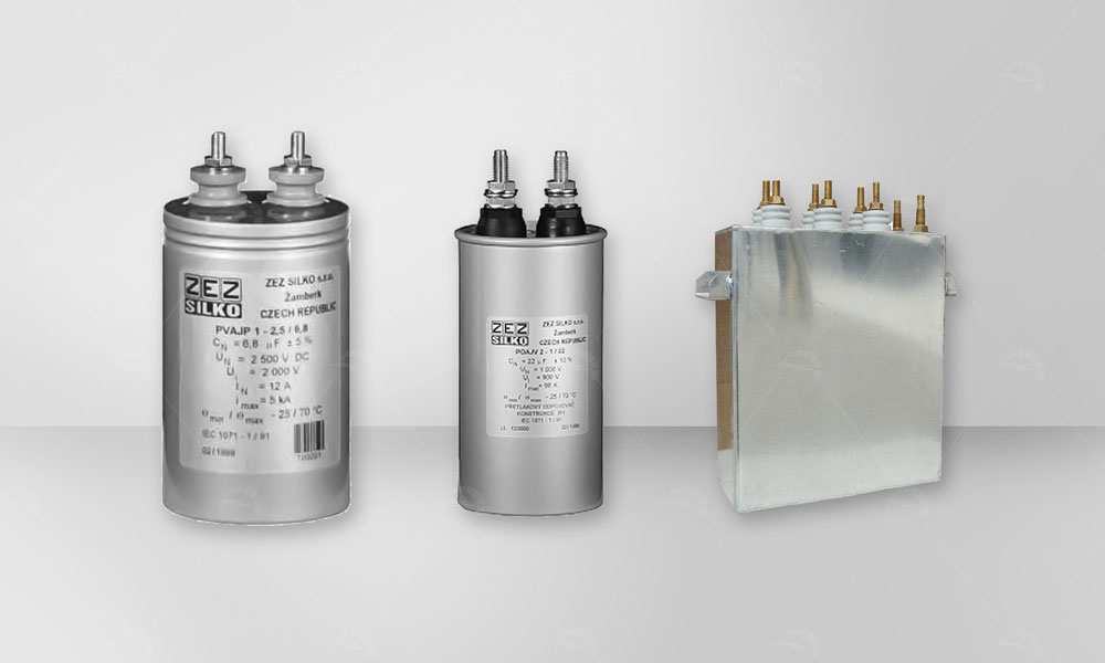 HV capacitors and Commutating capacitors