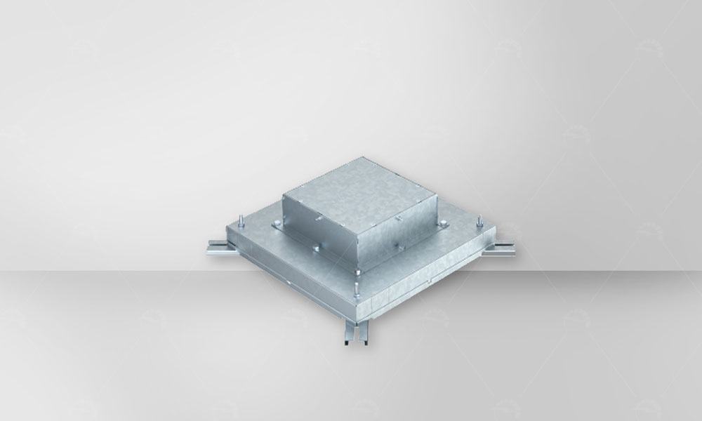 In-Concrete Trunking System produced by OBO bettermann company has high mechanical resistance .