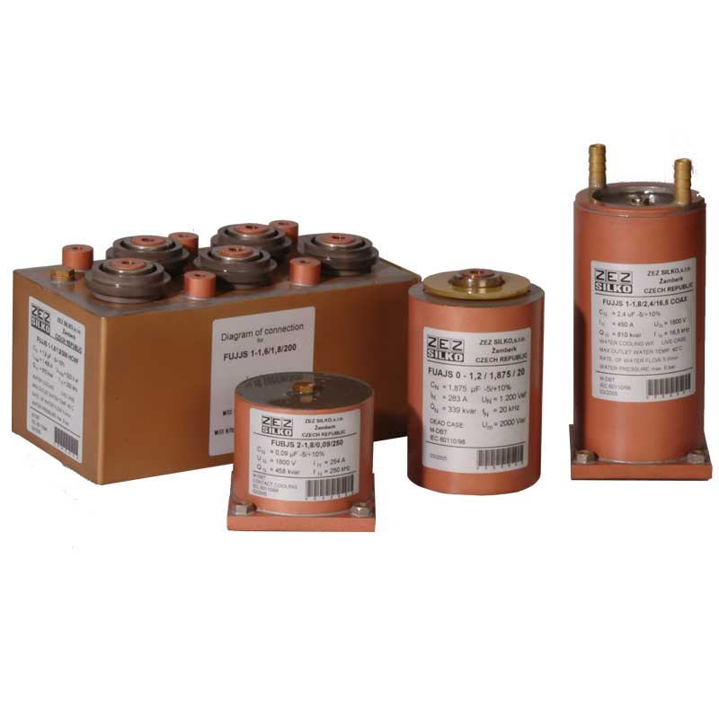 Induction heating capacitors 10kHz-250kHz