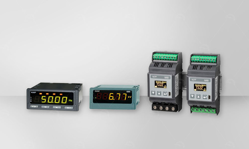 Programmable Digital Meters have been used for measuring electrical parameters in three and single phase power networks.