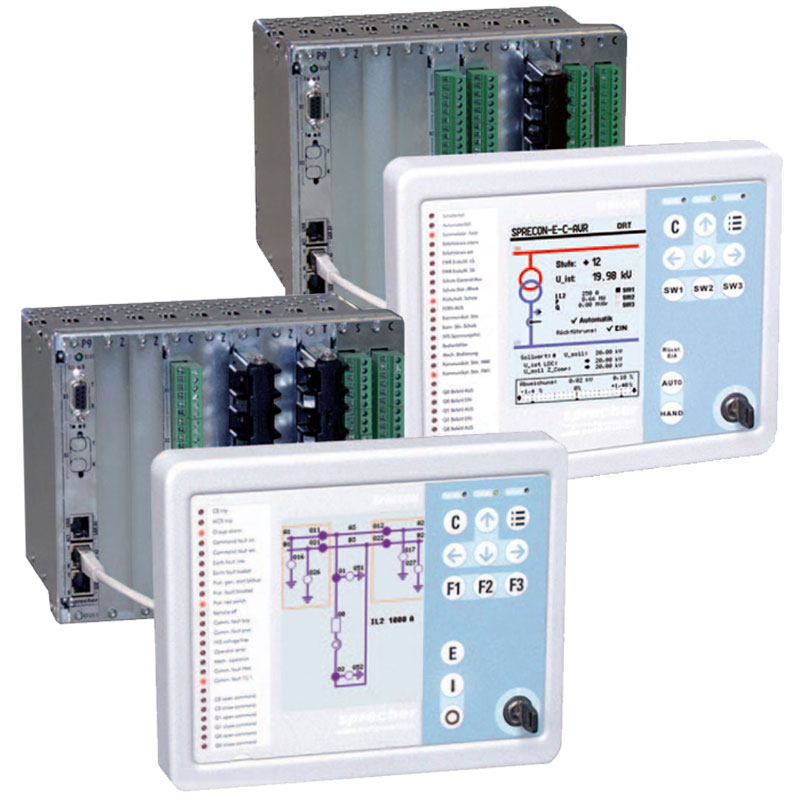 Multifunction Relays are for protection and control of electrical equipment including feeder protection , motor and transformer protection , differential and distance protection , overcurrent and overload protection .
