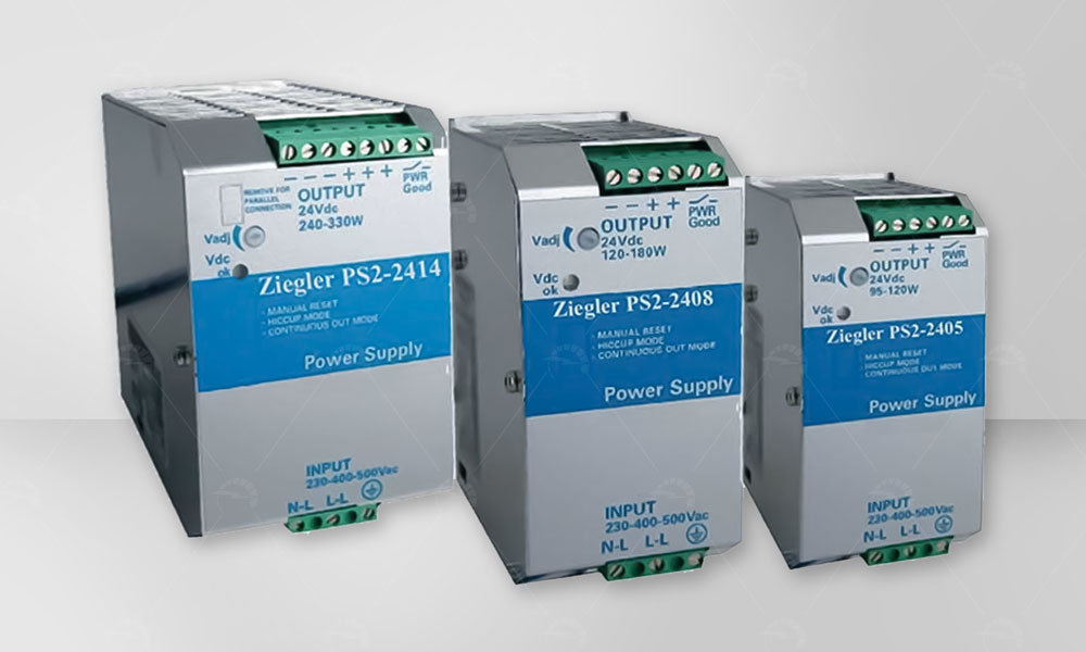 Two phase switching power supply
