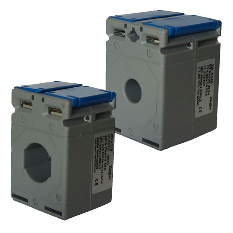 Ziegler Instruments , leader in measuring instruments unveils its world class plastic cased Square and Round Current Transformers . Ziegler Current Transformers or Ziegler CT's as they are better known are encased with polycarbonate housing . These are available for different ratings , VA burdens & Accuracy classes . 