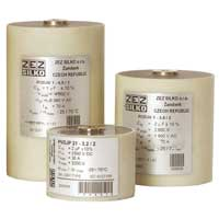 Cylindrical cases capacitors