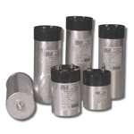 DC link cylindrical capacitors