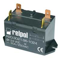 R20 industrial relays of small dimensions series R20