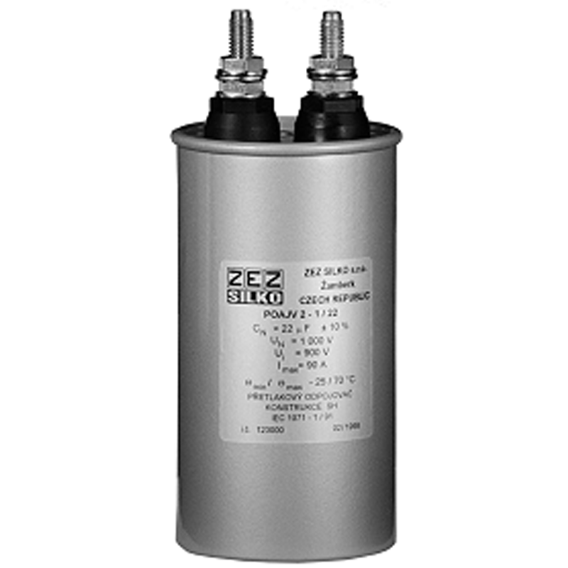 Cylindrical case Commutating capacitor POAJV 1-2,1/20