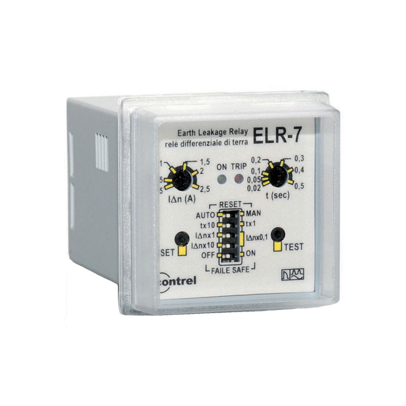 Panel Earth leakage Relay ELR-7