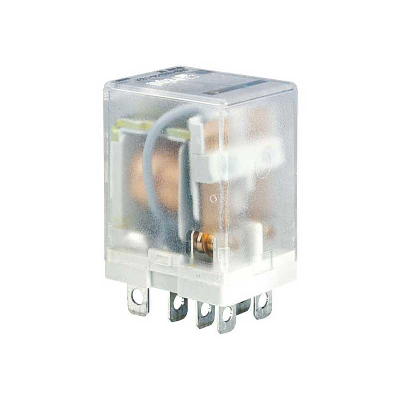 2 contacts Miniature relay with coil 230V AC