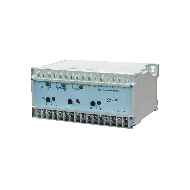Ziegler 3RTD Thermal Overload Relays