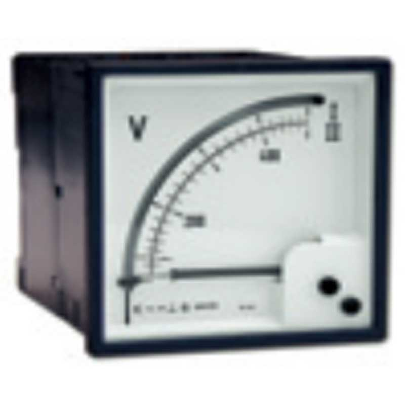 Analog Panel Double Voltmeter