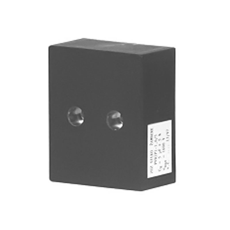Black Rectangular case capacitor PVDJP 4-1.6/2