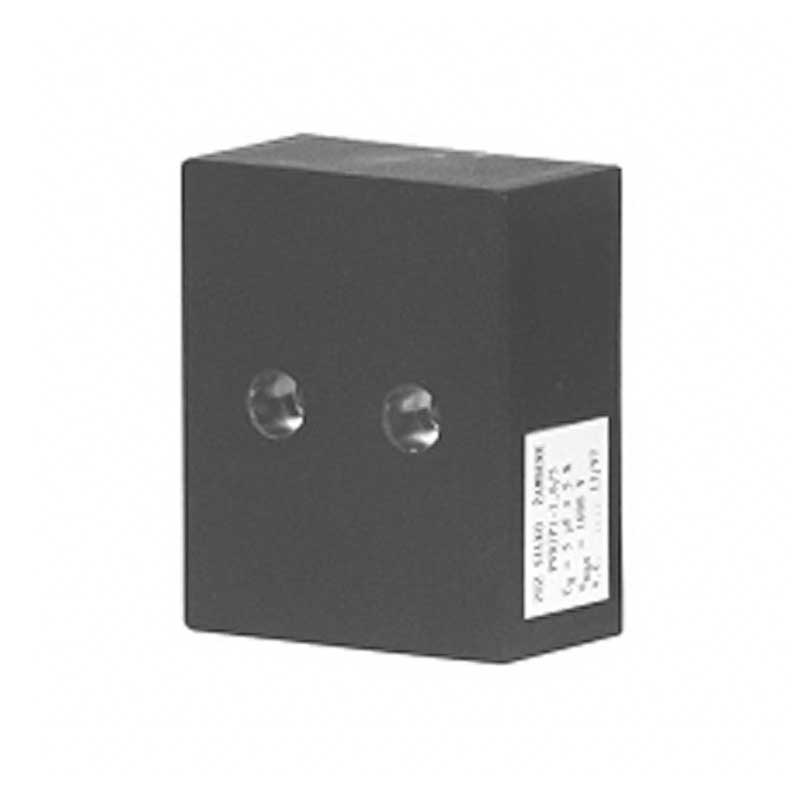 Black Rectangular case capacitor PVDJP 5-1.6/2