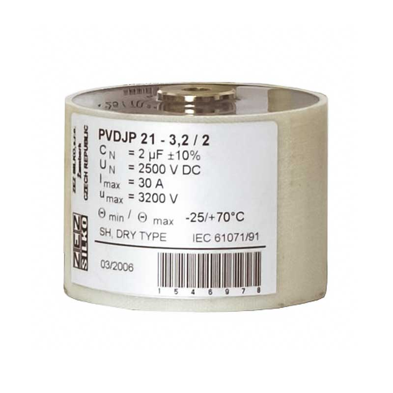 Cylindrical case Snubber capacitor PVDJP 1-5/10