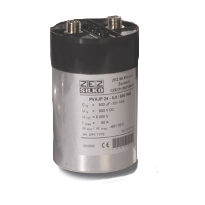 DC link cylindrical capacitor PVAJP 24-0,8/500