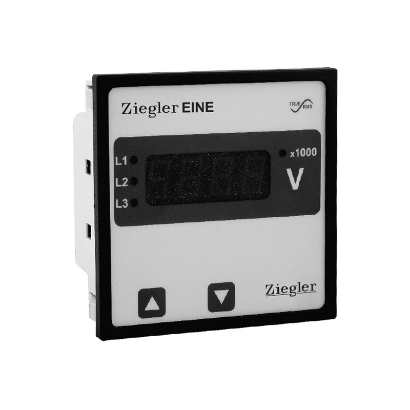Digital Programmable Panel Ammeter/Voltmeter