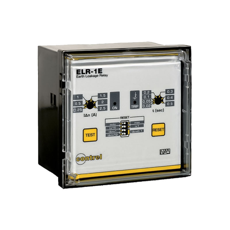 Panel Earth leakage relay ELR-1E