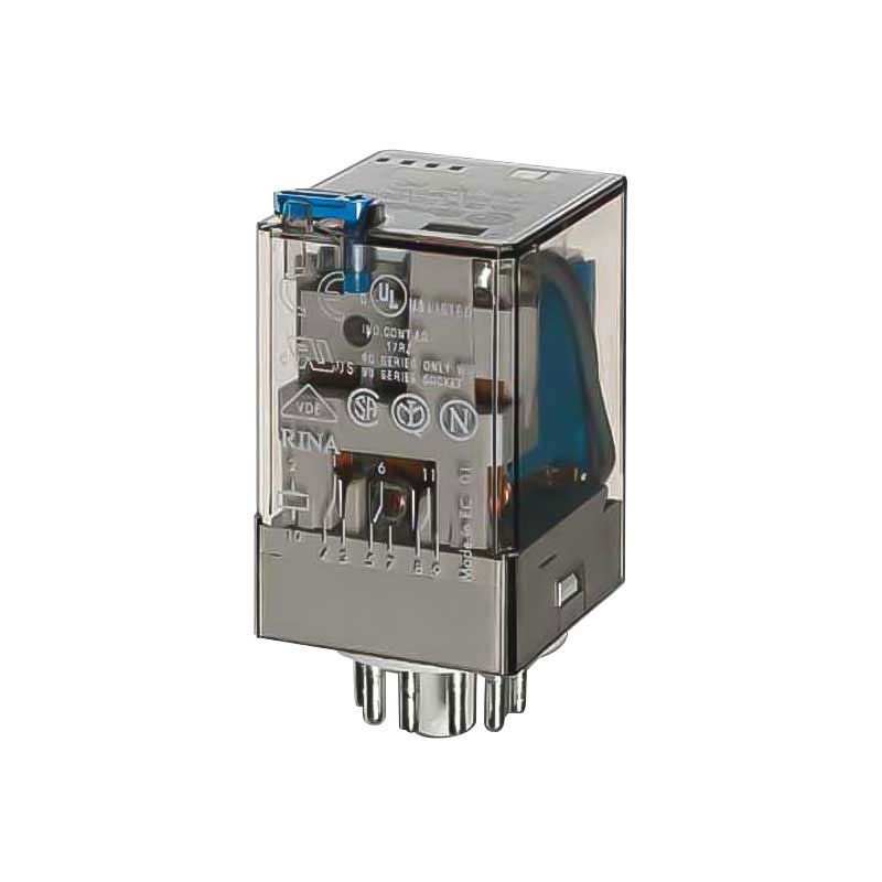 Finder industrial relay with coil 12V AC