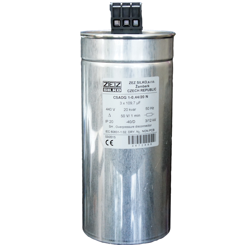 Gas Filled Capacitor 20kvar