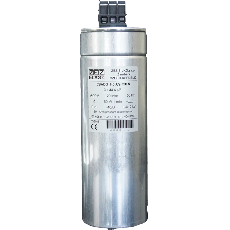 Gas Filled Capacitor 20kvar-690 V