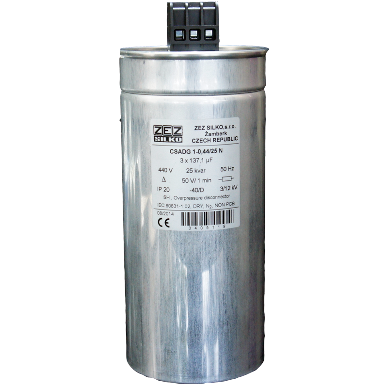 Gas Filled Capacitor 25kvar