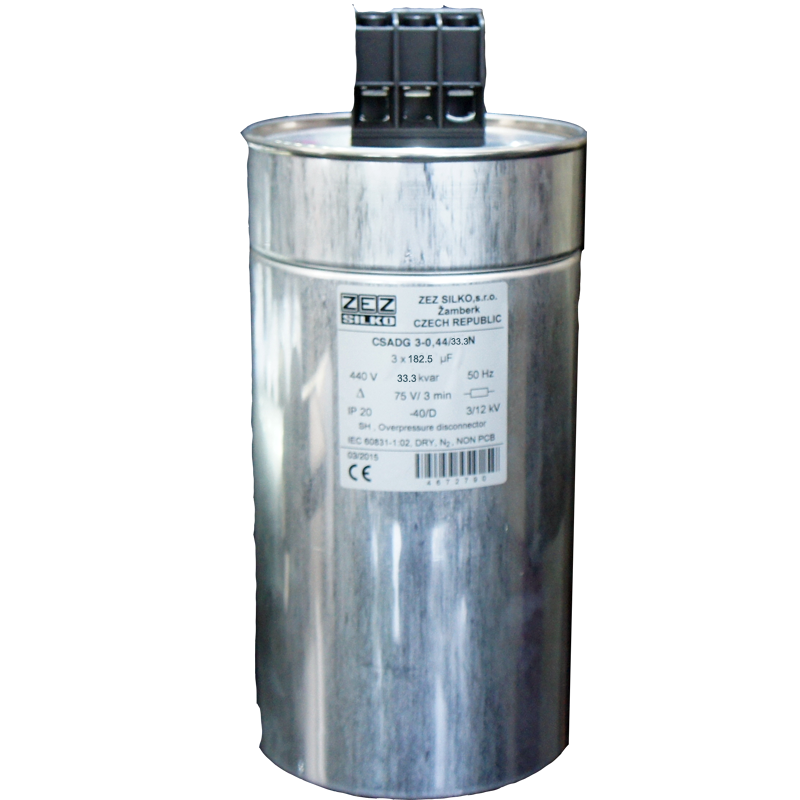 Gas Filled Capacitor 33.3kvar