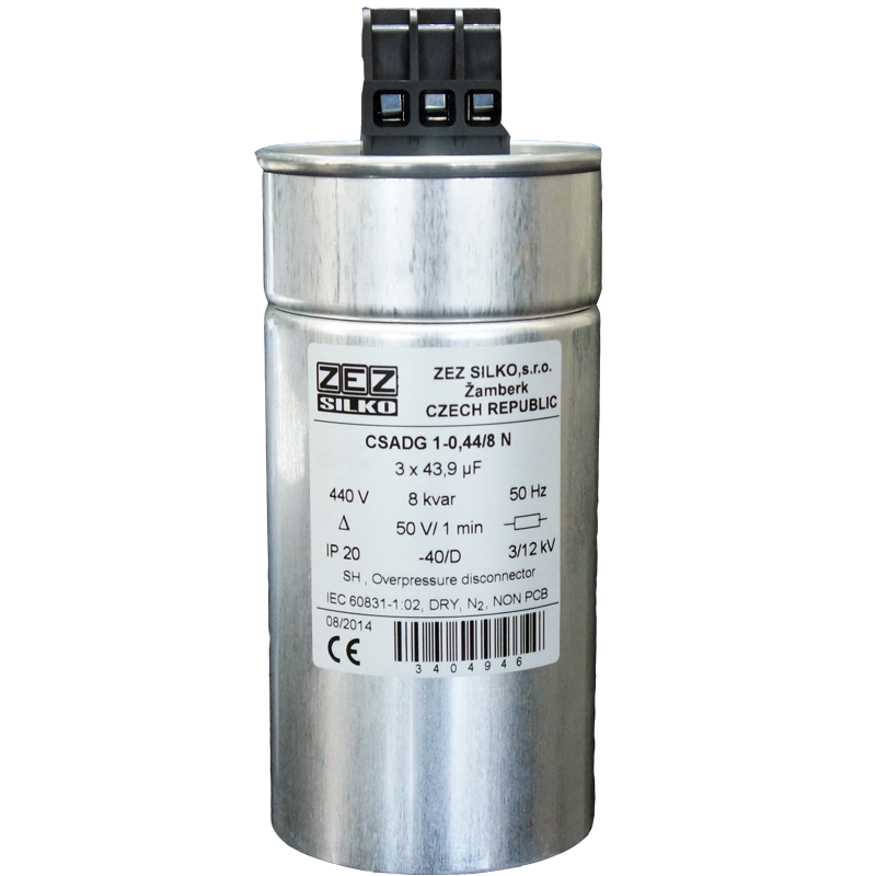 Gas Filled Capacitor 8kvar