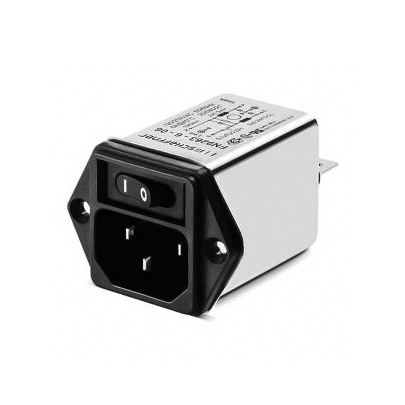 General Purpose Power Entry Module with Mains Switch