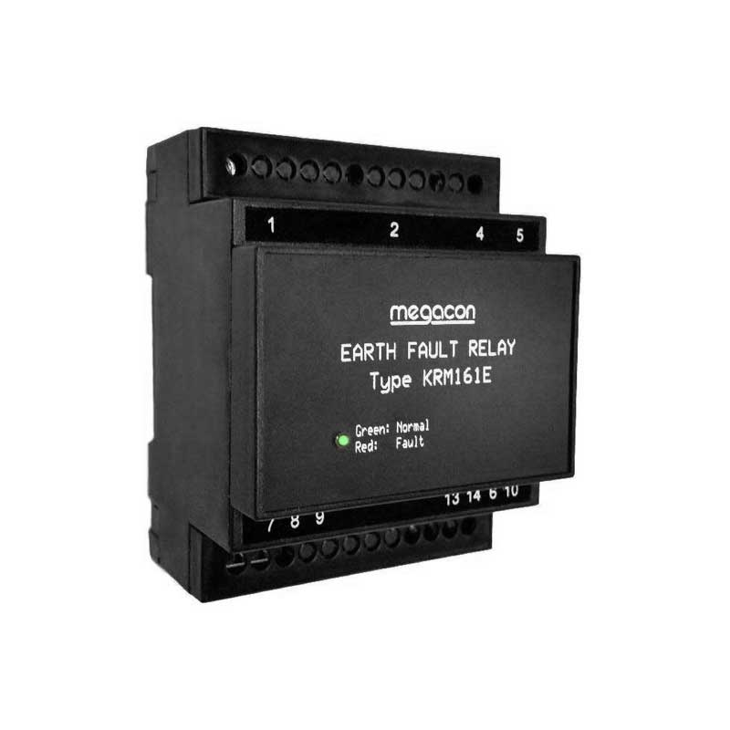 Insulation relay for non-ground AC systems
