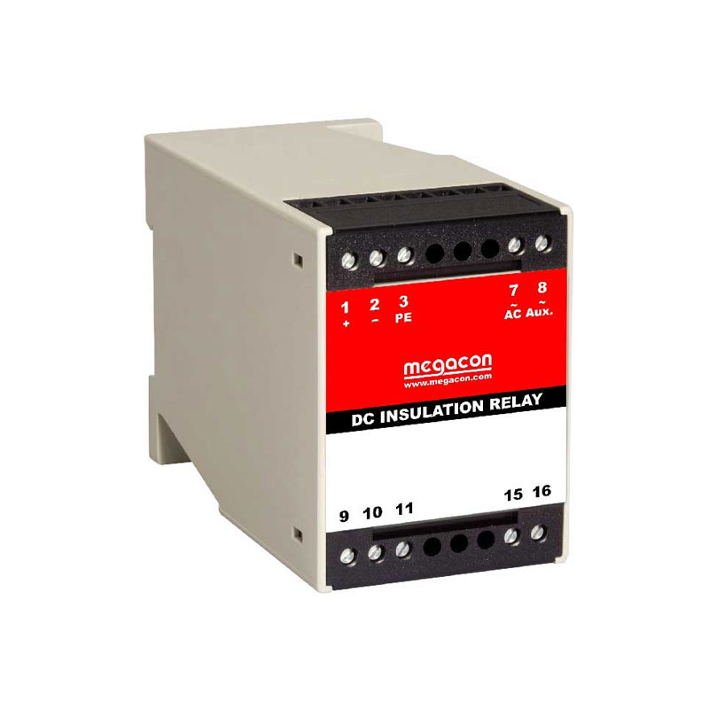 Insulation relay for non-live DC systems
