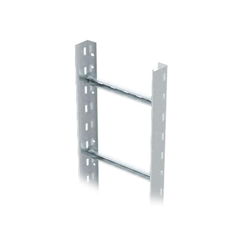 Medium-duty vertical cable rail ladder