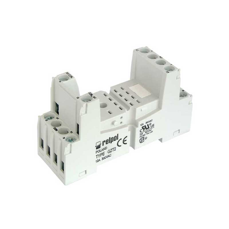 Plug in socket for industrial relay R2N series