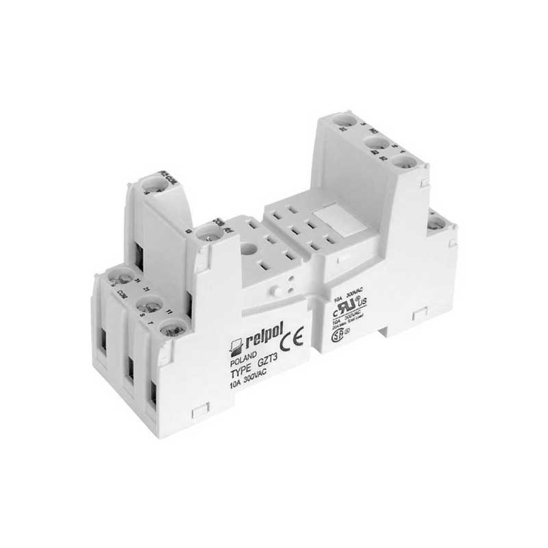 Plug in socket for industrial relay R3N series