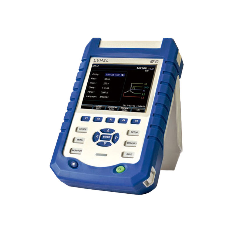 Portabler power quality analyzer