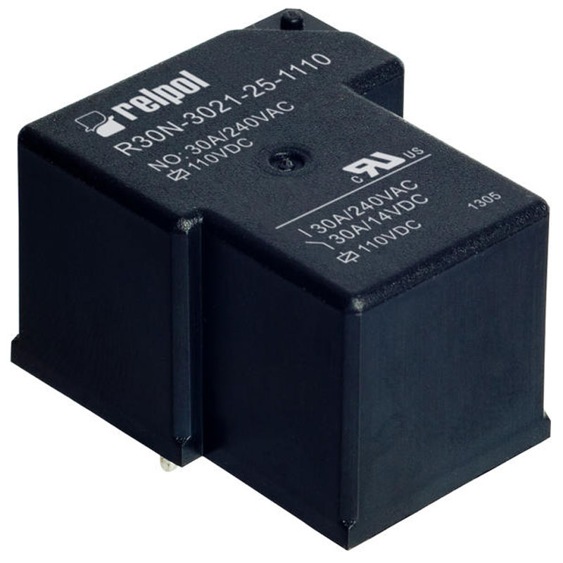 Industrial relays of small dimension series R30N
