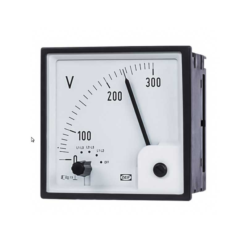 Voltmeters and ammeters