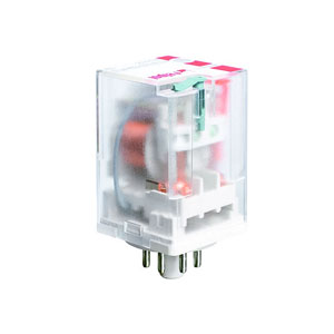 2 Contacts Relay with coil 24V DC