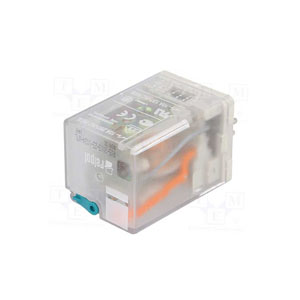3 Contacts Relay with light indicator and coil 24V DC