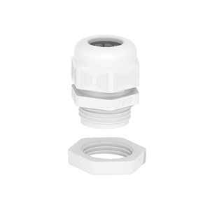 Cable gland PG thread, set with locknut