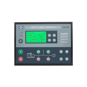 Compact genset controller