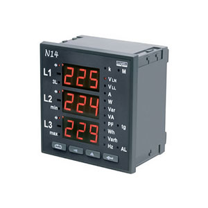 Digital Three Phase Meter
