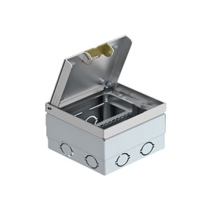Floor Socket with Stainless Steel Lid