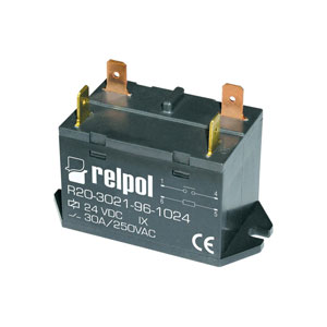 Industrial relay type R20-3022-96-1024