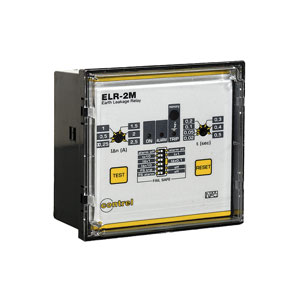 Panel Earth leakage relay ELR-2/ELR-2M