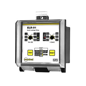 Panel earth leakage relay ELR-91/ELR-92
