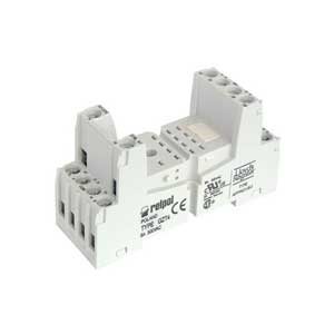 Plug in socket for industrial relay R4N series