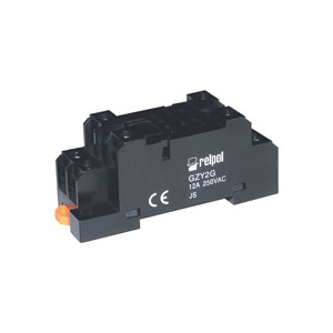 Plug in socket for industrial relay RY2 series